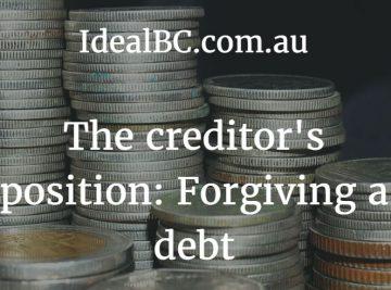 forgiving debt