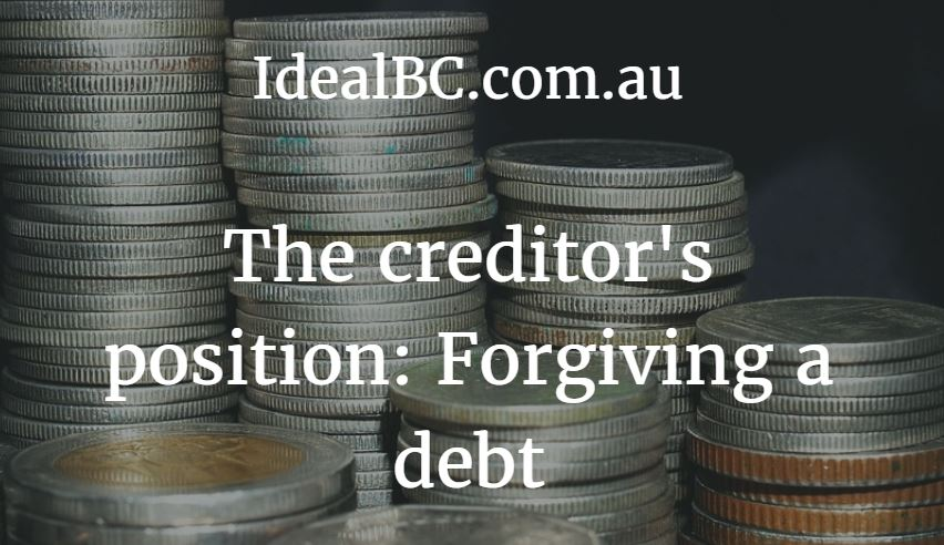 forgiving debt
